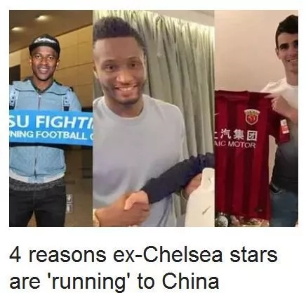 4 reasons ex-Chelsea stars are 'running' to China