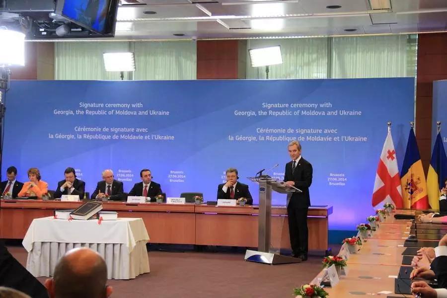 Discursul Prim-ministrului Iurie Leancă înainte de semnarea Acordului de Asociere dintre Republica Moldova și Uniunea Europeană