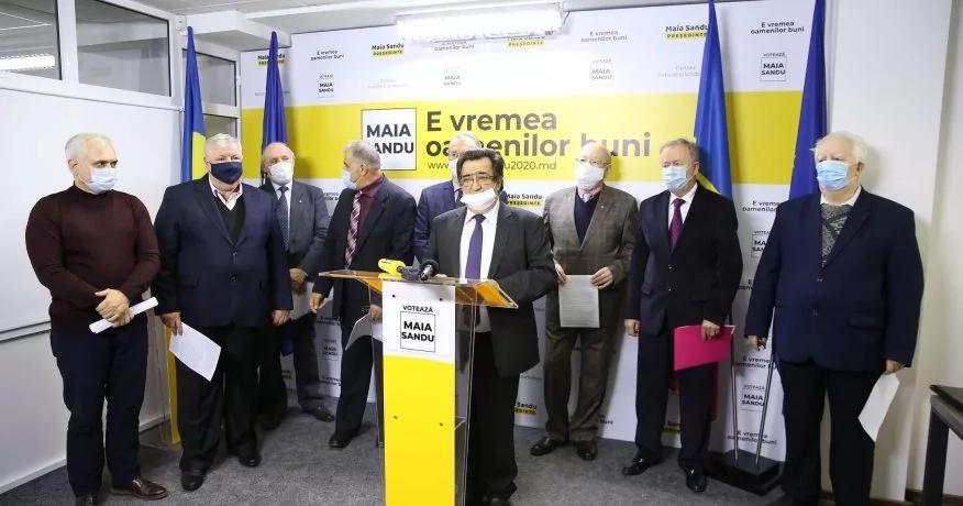 Deputații din Primul Parlament, oameni de cultura și știință îndeamnă cetățenii să voteze cu Maia Sandu
