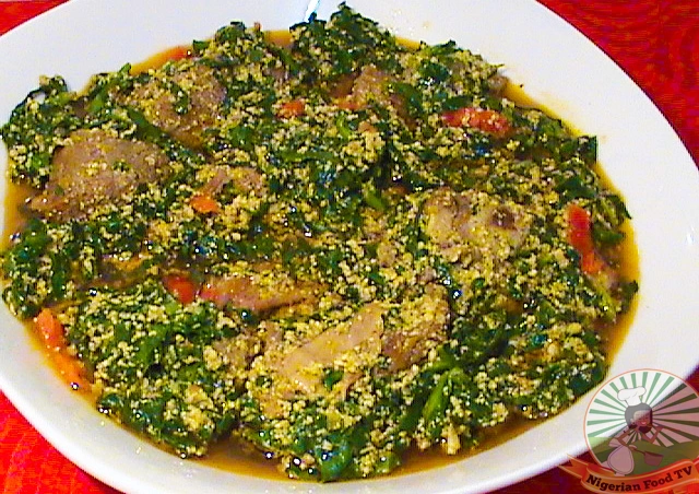 Learn To Cook Egusi Soup With Spinach
