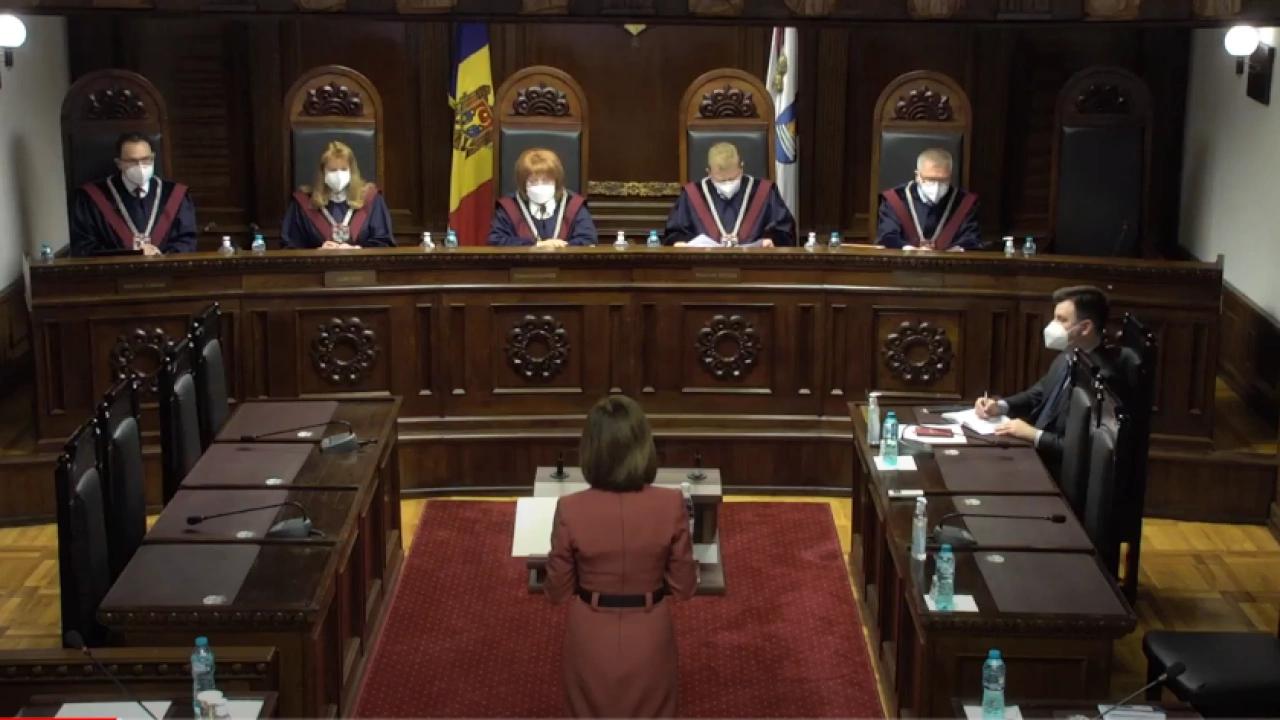 Curtea Constituțională constată că sunt îndeplinite circumstanțele care justifică dizolvarea Parlamentului
