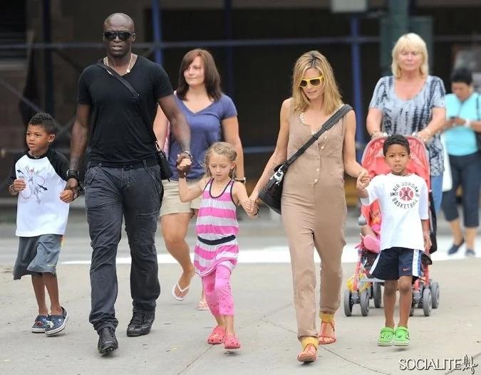Heidi Klum and Seal kids