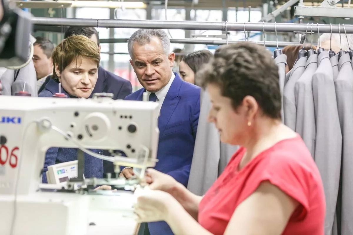 Vlad Plahotniuc a vizitat mai multe companii din Chișinău