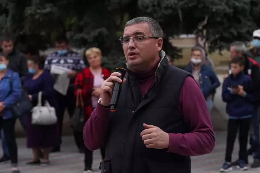 Renato Usatîi la Ștefan Vodă