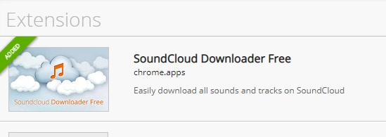 SoundCloud downloader Chrome