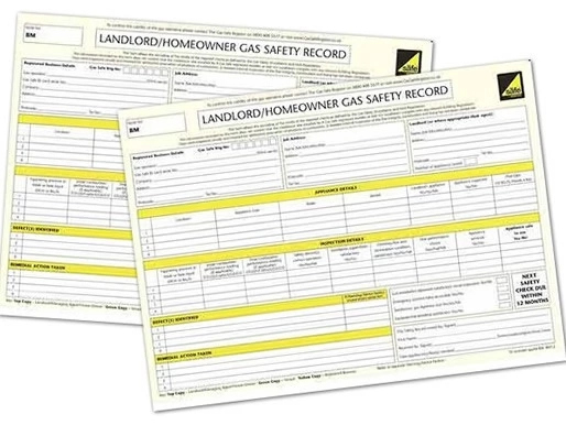 CP12 (Gas Safety certificate)