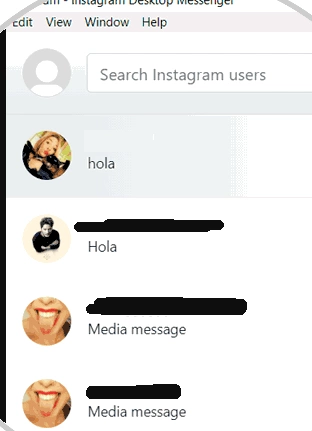 How to message on Instagram on laptop