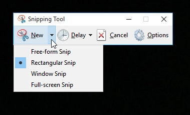 How to take a screenshot on Windows computers