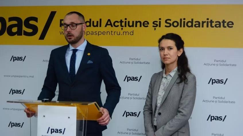"""Partidul Acțiune și Solidaritate critică așa numitul """"exit poll"""" de la Hîncești"""