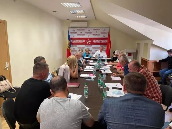 Igor Dodon a prezidat ședința staff-ului zonal Nord al BeCS