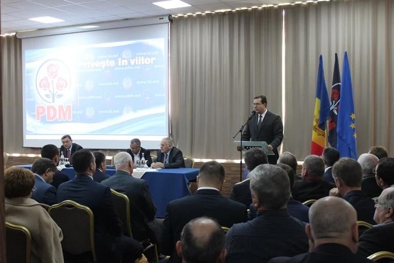 Consiliului Politic Național al PDM a stabilit prioritățile formațiunii pentru perioada imediat următoare