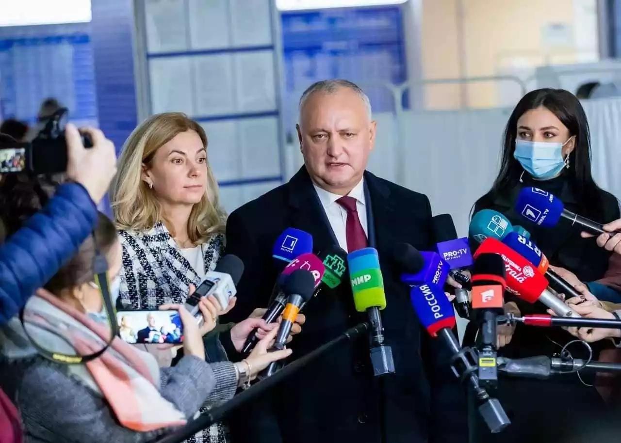 Igor Dodon a votat pentru valorile tradiționale, creștine, pentru memoria buneilor