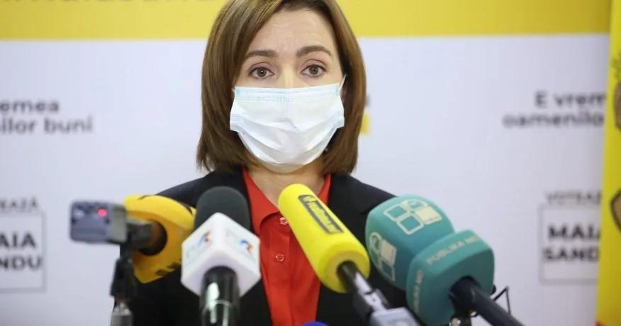 Președintele ales Maia Sandu a anunțat prioritățile
