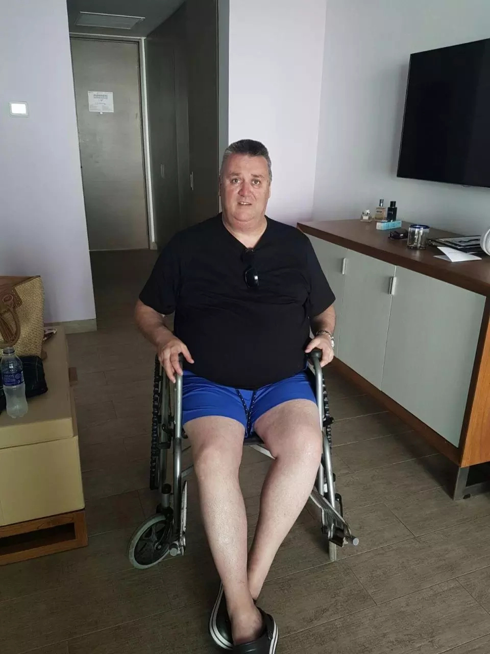 Health and safety expert 'housebound' after slipping on wet path on Caribbean hol