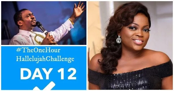 Read Funke Akindele's Message To Nathaniel Bassey Over #HallelujahChallenge