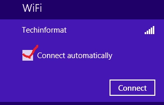 Automatically connect to WiFi Windows 10