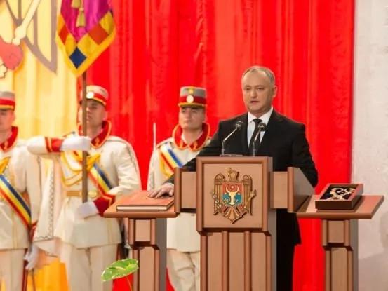 Discursul de învestitură lui Igor Dodon în funcția de președinte al Republicii Moldova