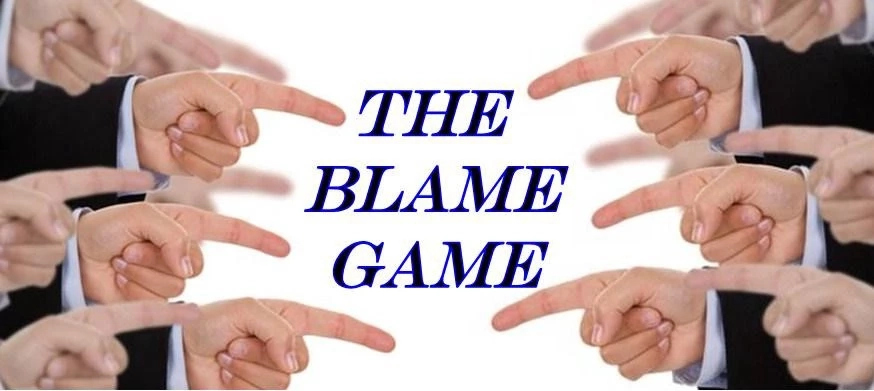 The Blame Game of COVID-19