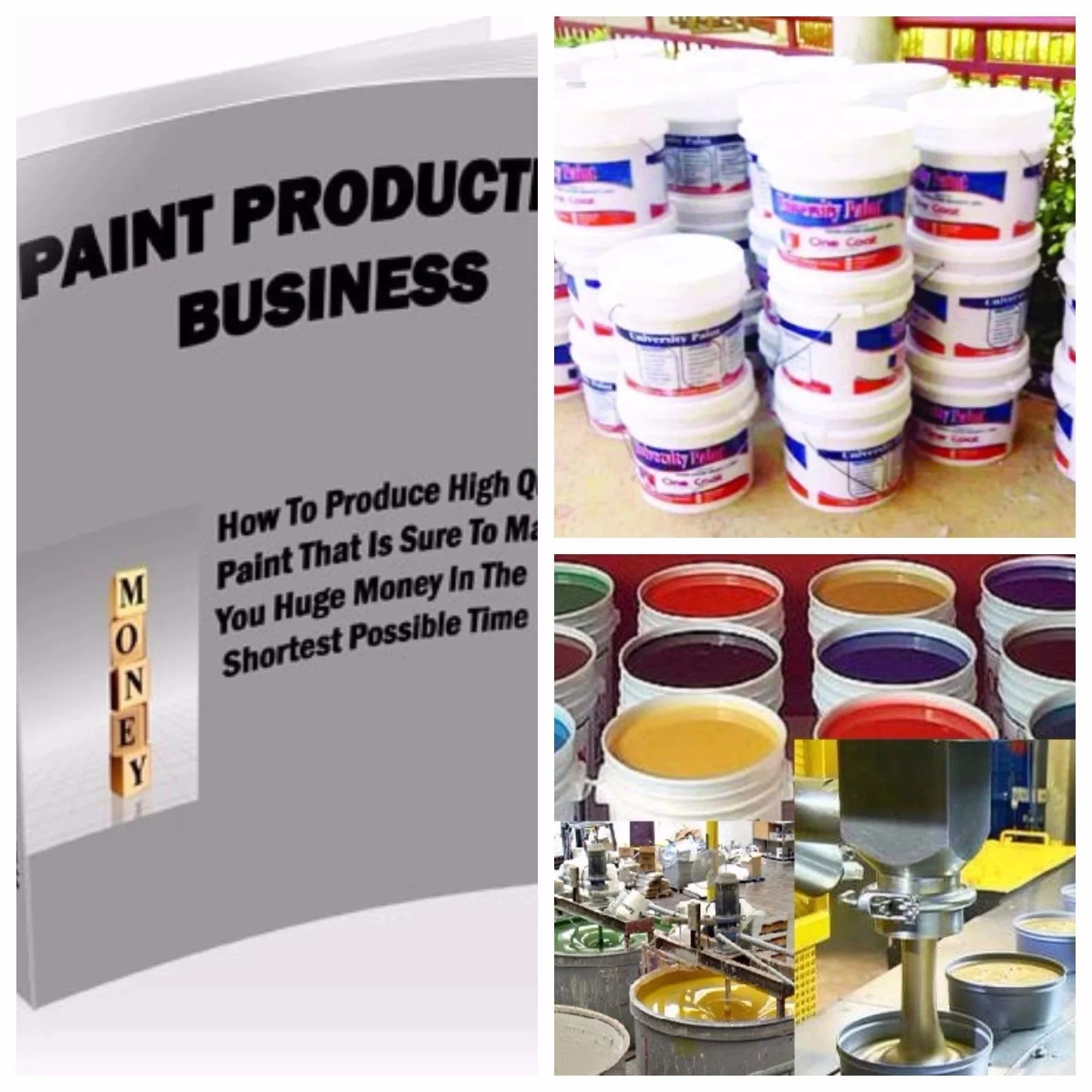 How to Produce Paint in Nigeria