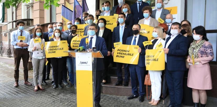 Partidul Acțiune și Solidaritate a depus actele la CEC pentru a se înregistra la alegerile parlamentare anticipate