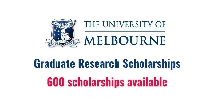$110,000 University of Melbourne Graduate Research Scholarships 2018