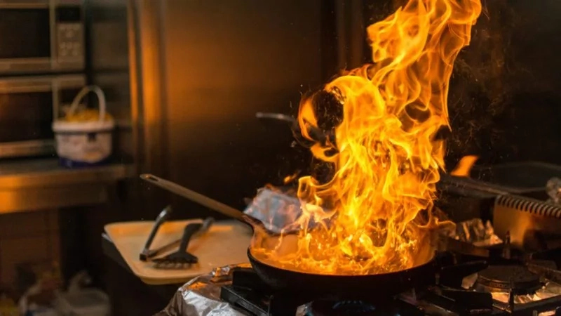 Do not leave electric gadgets on when making calls in the kitchen – Fire Expert Warns