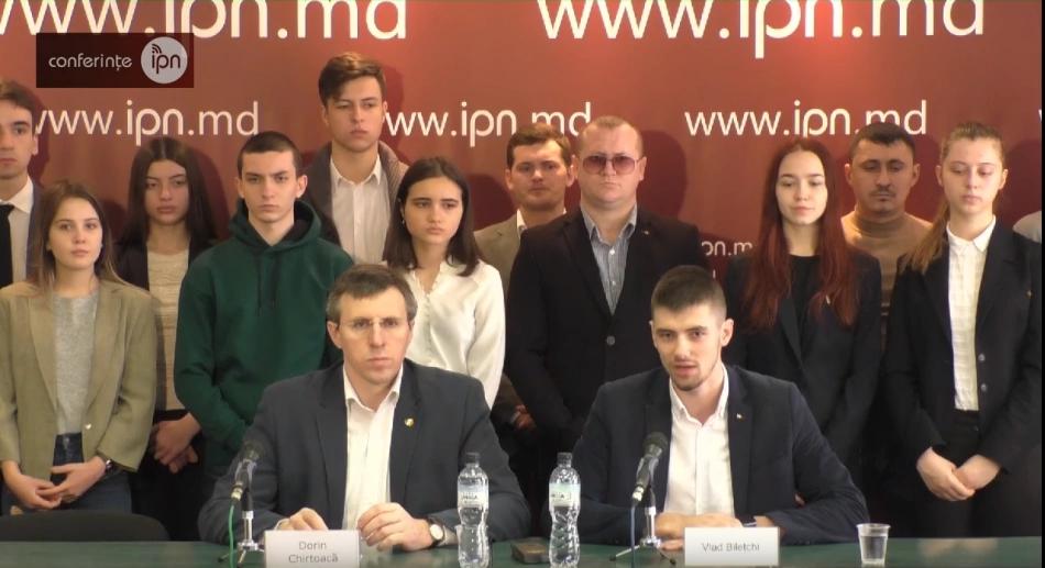 Candidatul PL pe circumscripția nr. 26 – președintele ODIP, Vlad Bilețchi