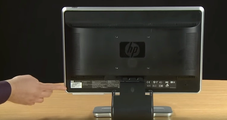 find HP serial number