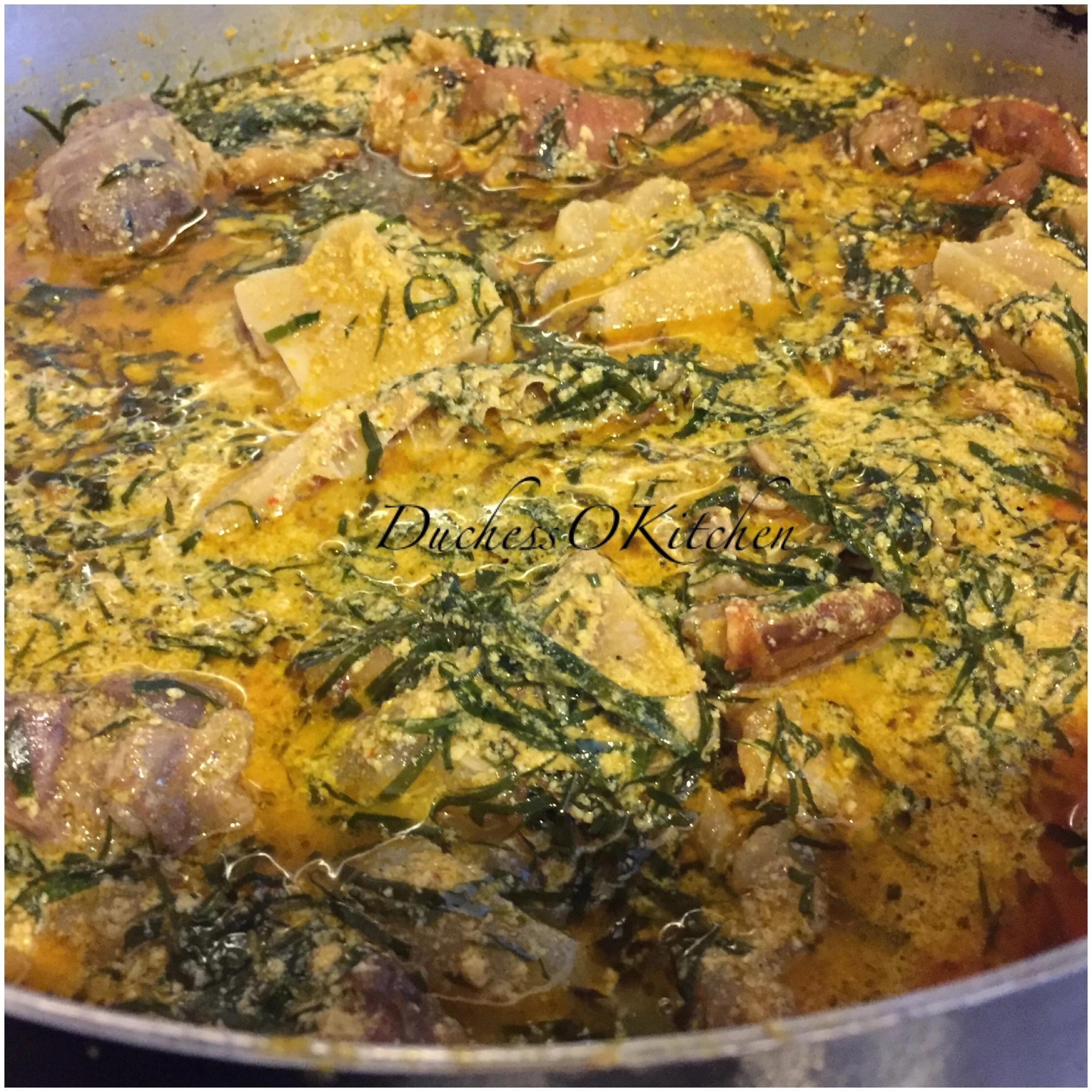 How To Prepare Okazi Soup