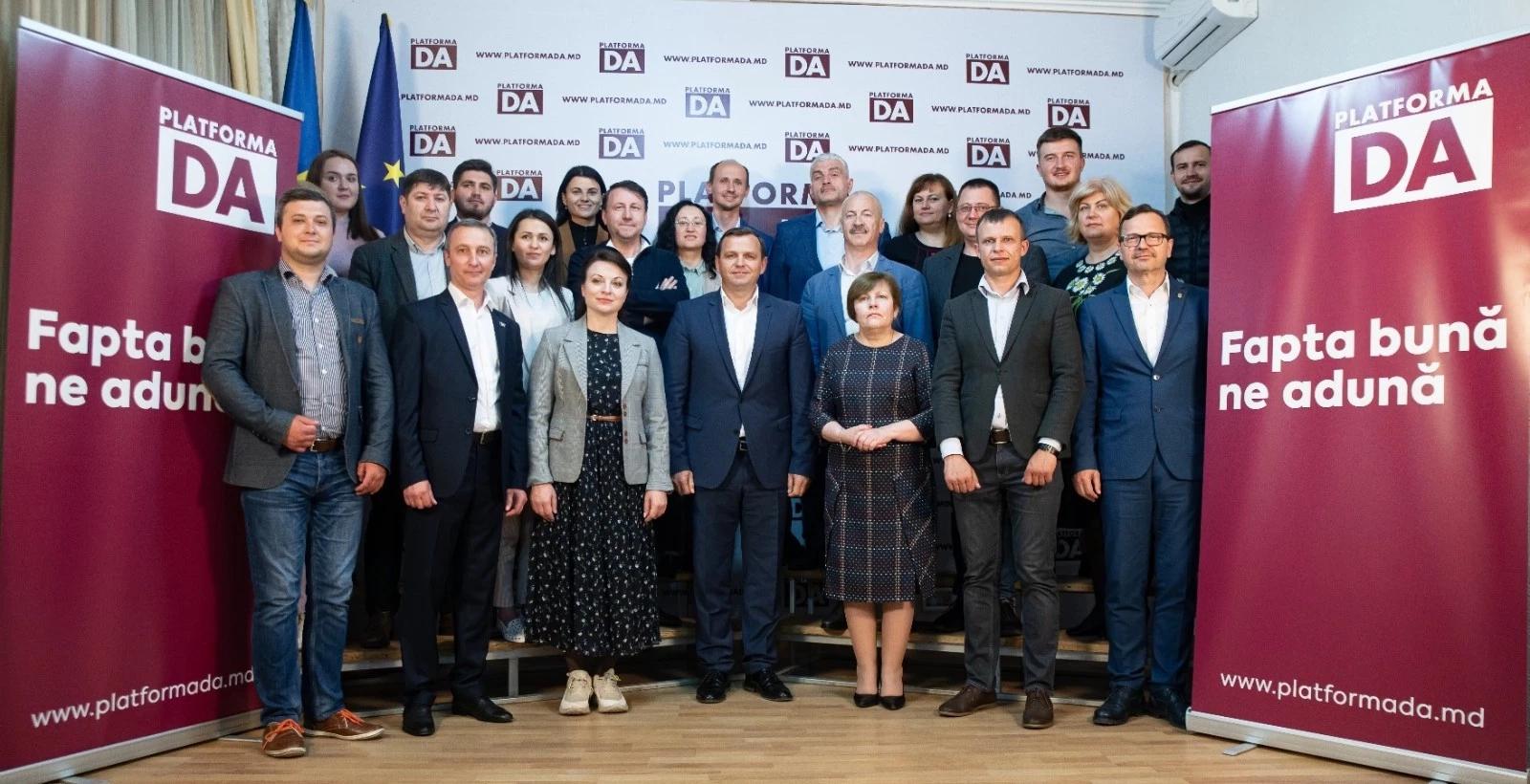 Platforma DA, înregistrată în calitate de concurent electoral