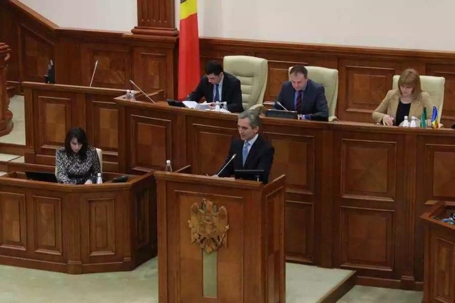 Discursul lui Iurie Leancă în ședința în plen a Parlamentului din 12 februarie 2015