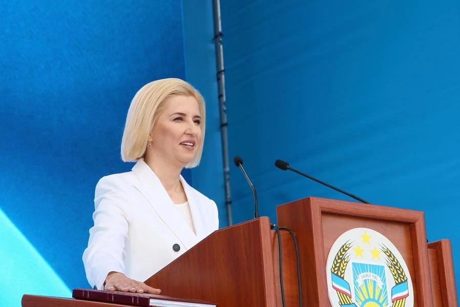 Învestirea Irinei Vlah în funcția de Guvernator al Găgăuziei