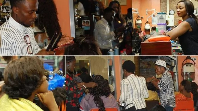 Business To Start With 10k - hairdressing and barbing salon
