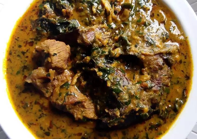 How to Prepare Nigeria Atama Soup