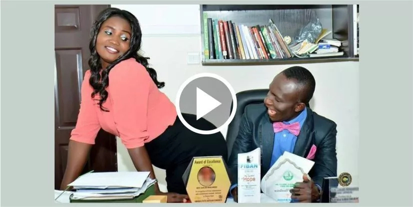 OMG! Lady Flashes Her Bum For Her Man In Pre-Wedding VIDEO After 10 Years Of Dating