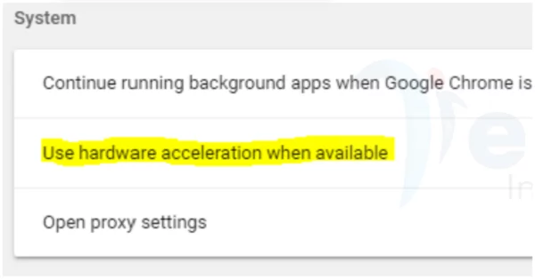 Use hardware acceleration when available Chrome functions