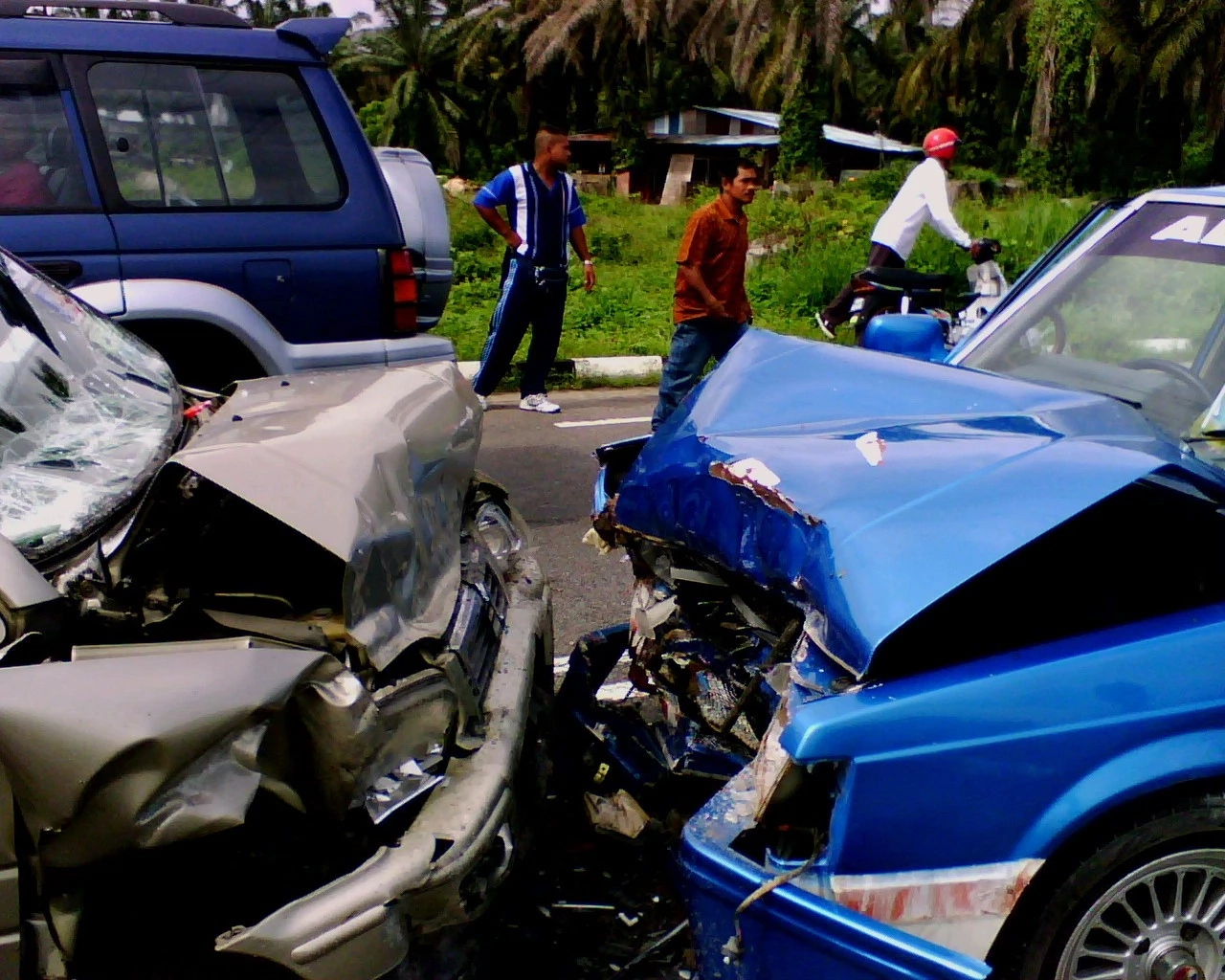 4 Primary effects of road accidents