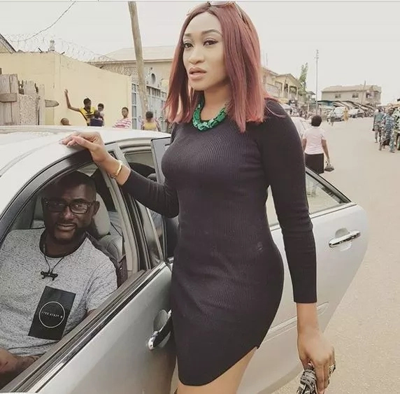 Oge Okoye shares photos from a movie location in Abeokuta