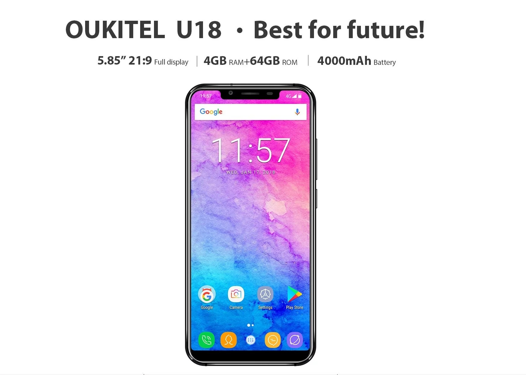Oukitel U18 full specifications & reviews