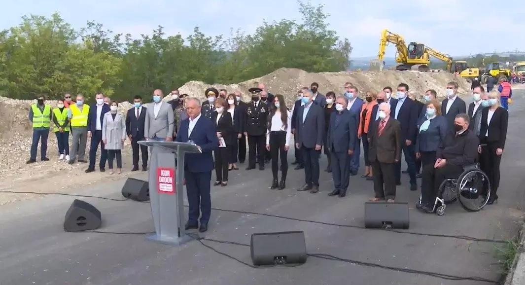 Igor Dodon a prezentat cei șapte piloni pe care va construi campania electorală pentru alegerile prezidențiale