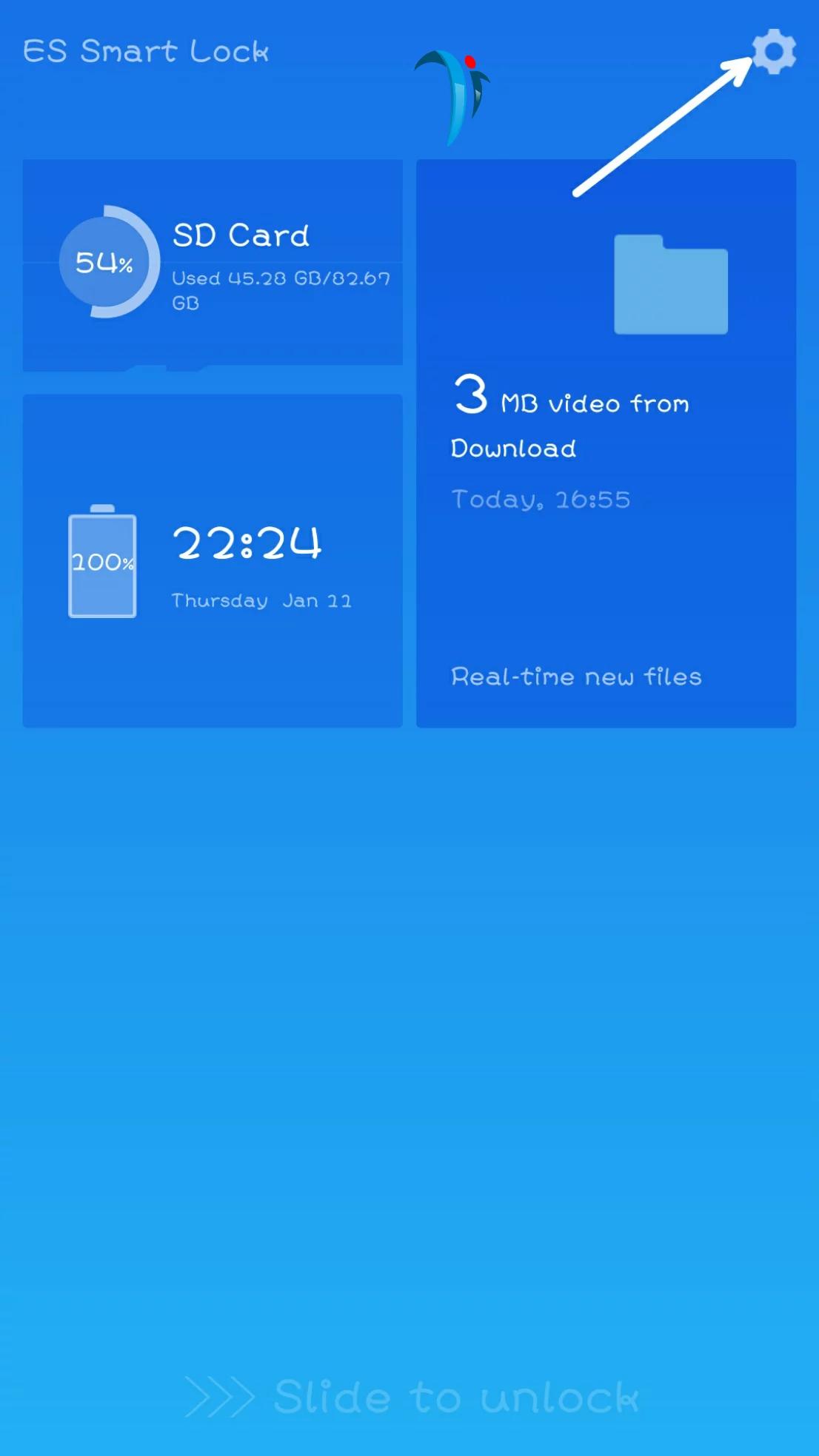 ES file explorer smart lock disable