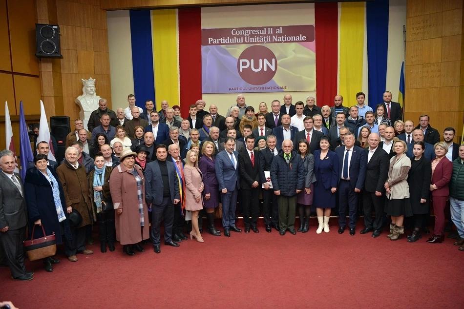 Congresul II extraordinar al Partidului Unității Naționale din 7 decembrie 2019