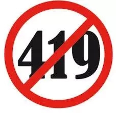 Punishment for 419 in Nigeria