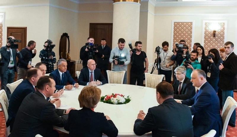 Igor Dodon: După desfășurarea consultațiilor responsabilitatea revine partidelor politice