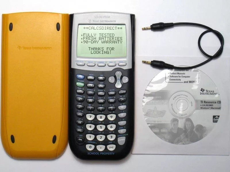 How to connect Texas Instruments TI-84 Plus to computer