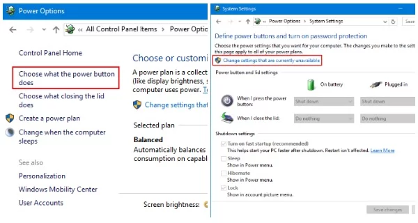 Windows 10 sleep button missing? Here is how to get it back