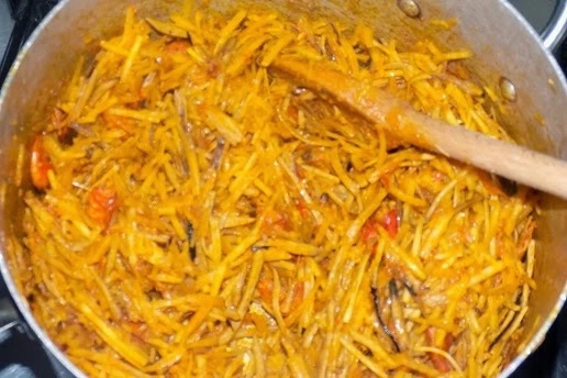 How To Make Nigeria Abacha (African Salad)