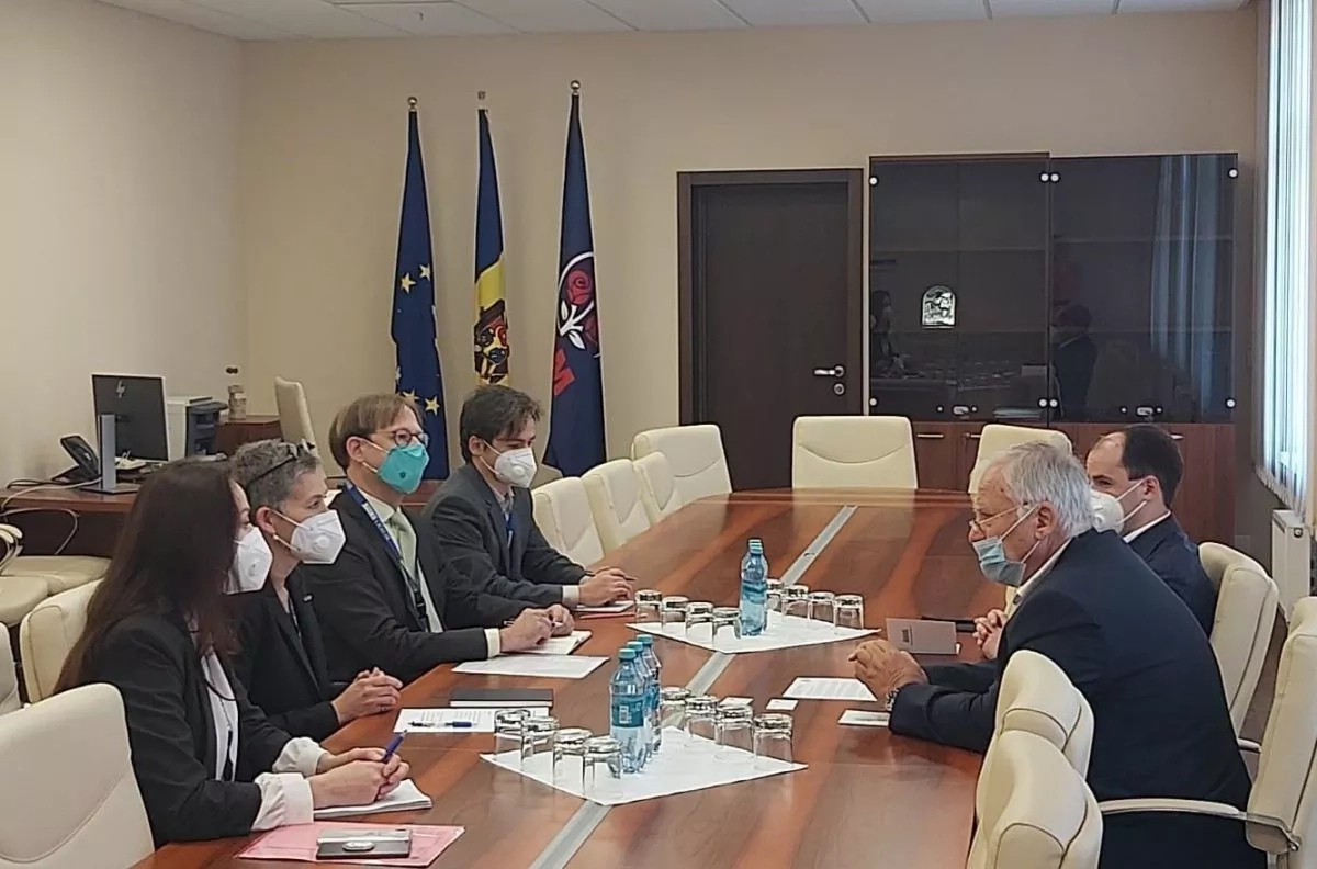 Dumitru Diacov, a discutat cu șefa misiunii de observare BIDDO al OSCE, Corien Jonker