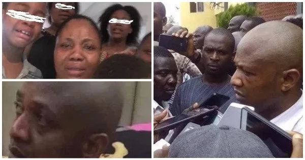 MY HUSBAND IS NOT A CRIMINAL, HE READS PSALM 23 DAILY - WIFE OF EVANS THE KIDNAPPER